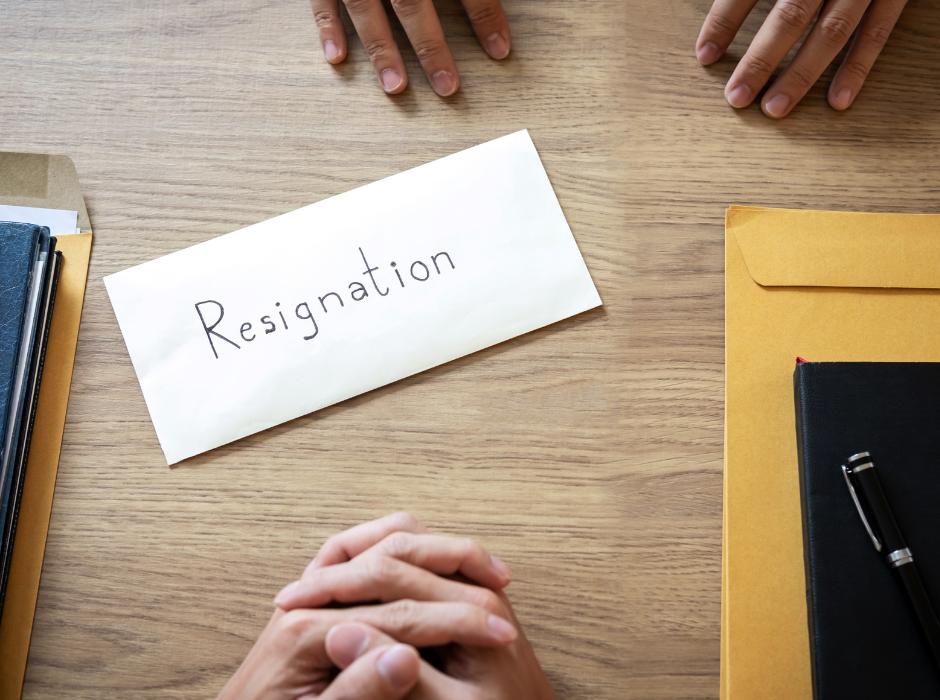 HOA Resignation Letter